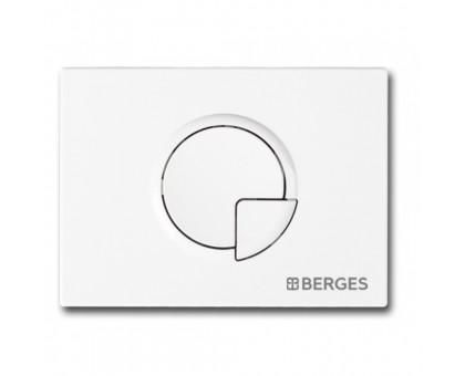 Инсталляция BERGES для скрытого монтажа NOVUM с кнопкой R1