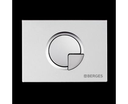 Инсталляция BERGES для скрытого монтажа NOVUM с кнопкой R2