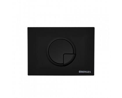 Инсталляция BERGES для скрытого монтажа унитаза NOVUM кнопка R5 Soft Touch