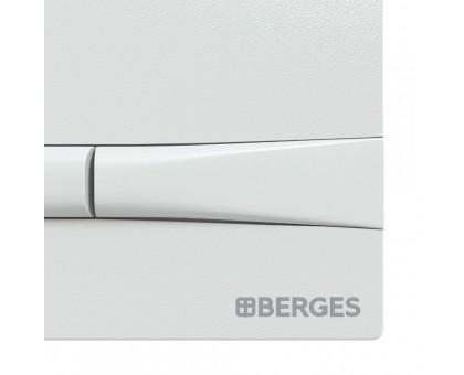 Инсталляция BERGES для скрытого монтажа унитаза NOVUM с кнопкой F1