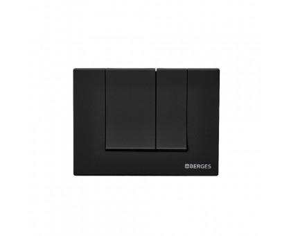 Инсталляция BERGES для скрытого монтажа унитаза NOVUM с кнопкой S5 Soft Touch