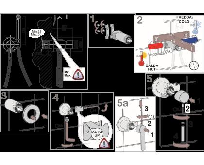 Гигиенический душ со смесителем Giulini RU-GIU.SH25RG