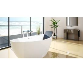 Прямоугольная ванна Riho Columbia 160x75 BA0100500000000  высота 60 см (600 мм)