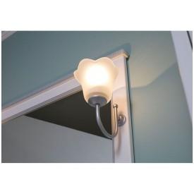 Светильник для ванной комнаты Aquanet хром EV0002CD