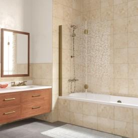 Душевая шторка на ванную E2V 120 02М R03 L VegasGlass