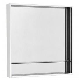 Зеркальный шкаф Ривьера 80 белый матовый Aquaton 1.A239.1.02R.VX2.0