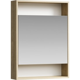 Сити Шкаф-зеркало 60 см SIT0406DB AQWELLA