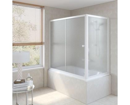 Душевая шторка на ванную ZV+ZVF 160*80 01 R04 VegasGlass