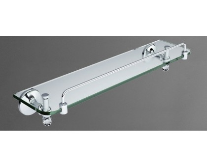 Полка стеклянная подвесная ART&MAX AM-E-2682SJ-Cr