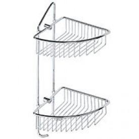 Двойная полочка для мыла угловая - мыльница Bemeta 146208232