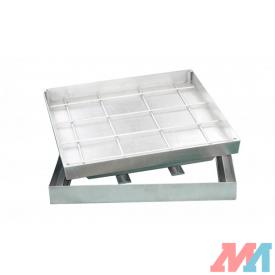 Люк Revizor сантехнический стальной напольный 1390-391 40х40