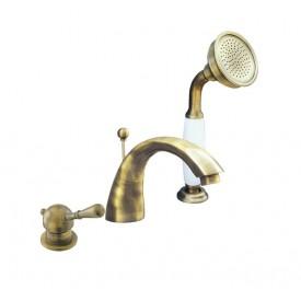 Смеситель RAV Slezаk для ванной, на 3 отверстия L069.5SSM