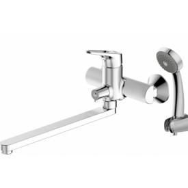 Смеситель для ванной на 2 отверстия Bravat F648162C-LB-RUS