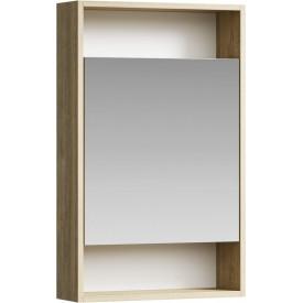 Сити Шкаф-зеркало 50 см SIT0405DB AQWELLA