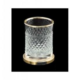 Стакан золото Boheme Murano Cristal 10218