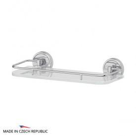 Полка с держателями (матовое стекло; хром) FBS LUX 013 30 см