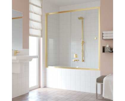 Душевая шторка на ванную ZV 150 09 01 VegasGlass