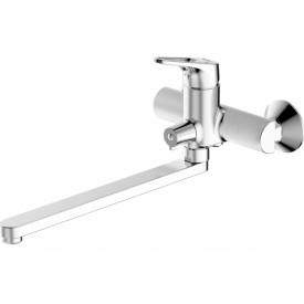 Смеситель для ванной на 2 отверстия Bravat F648162C-01A