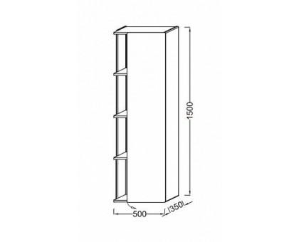Подвесная колонна Jacob Delafon 50 см EB1179D-274