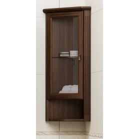 Шкаф Клио подвесной угловой, левый, с матовым стеклом Opadiris Z0000004518
