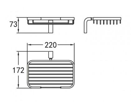 Держатель мыльницы подвесной ART&MAX AM-F-8931