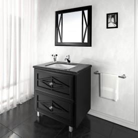 Зеркало VOD-OK Мишель от 80 до 90 см H-75