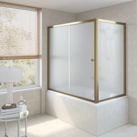 Душевая шторка на ванную ZV+ZVF 170*75 П10 10 VegasGlass