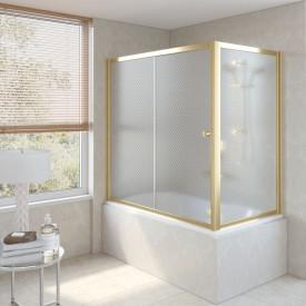 Душевая шторка на ванную ZV+ZVF 180*75 09 R04 VegasGlass