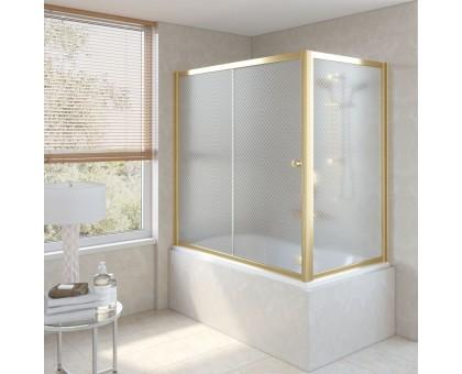 Душевая шторка на ванную ZV+ZVF 150*85 09 R04 VegasGlass