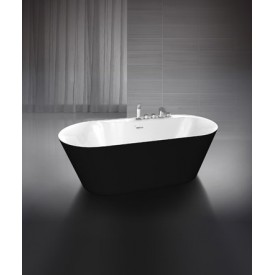 Ванна BelBagno BB14-NERO/BIA