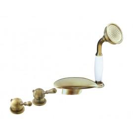 Смеситель RAV Slezаk для ванной, на 4-е отверстия, переключатель керамический L070.5PSM