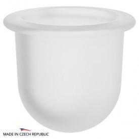 Колба туалетного ерша LUX/ELL/STA/UNI (матовый хрусталь) FBS 610506