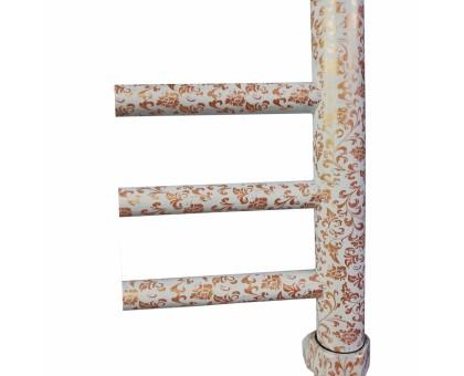 Полотенцесушитель Водяной Nika 80x50 с декором 1557-2456