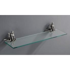 Полка стеклянная подвесная 60 см ART&MAX AM-B-0983-B