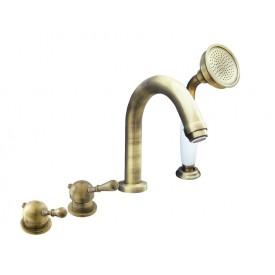 Смеситель RAV Slezаk для ванной, на 4-е отверстия, переключатель керамический L062.5PSM
