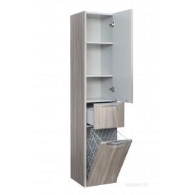 Шкаф - колонна Сильва правый дуб фьорд Aquaton 1A215603SIW6R