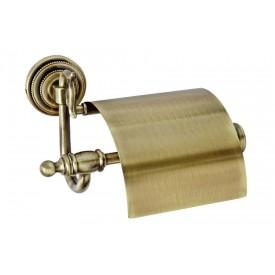 Держатель для туалетной бумаги с крышкой Boheme Medici 10601