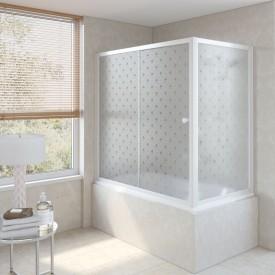 Душевая шторка на ванную ZV+ZVF 160*80 01 R05 L VegasGlass