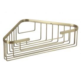 BASKET Решетка угловая 25х25хh9 см., бронза