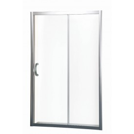 W53S-1201190MT64 BLISS L Solo Душ.дверь профиль матовый хром стекло прозрачное