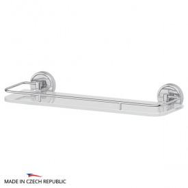 Полка с держателями (матовое стекло; хром) FBS LUX 014 40 см