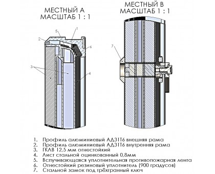 Люк Revizor сантехнический огнеупорный 1421-422 60х100