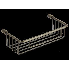 BASKET Решетка прямоугольная 22,5х11,6хh6 см., бронза