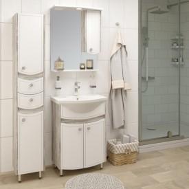 Комплект мебели для ванной Runo Аликанте 60