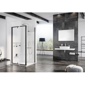 Душевая дверь Ravak Pivot 90G70300Z1 90 чёрный прозрачный