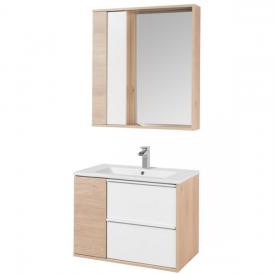 Комплект мебели для ванной комнаты AQUATON 1A240101BN010-К