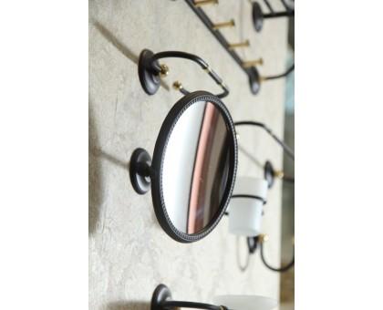 Увеличительное зеркало подвесное ART&MAX AM-2143-Nero/Do-Ant