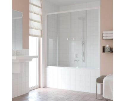 Душевая шторка на ванную Z2V 170 01 01 VegasGlass