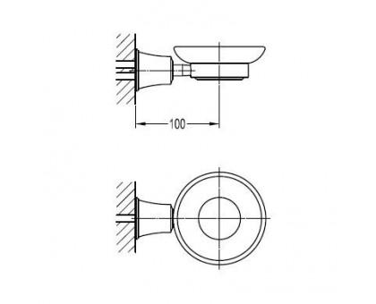 Мыльница подвесная ART&MAX AM-F-8987