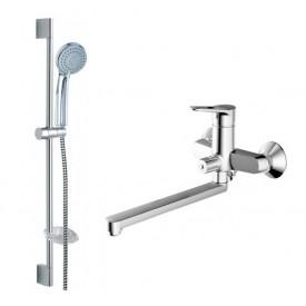 Комплект для ванной комнаты Bravat Eco-D 2 в 1  F00415C